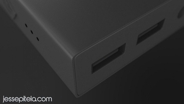 charger 3D product visualization