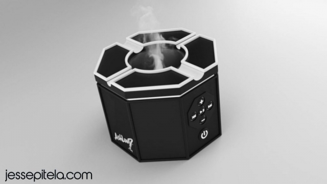 speaker 3D visualization rendering animation keyshot